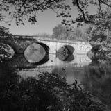 Puente del parque de Clumber Fotos de archivo libres de regalías