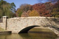 Puente del parque de la libertad Imagenes de archivo