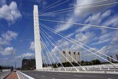 Puente del parque de la paz fotografía de archivo