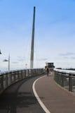 Puente del paseo de Bourg, Aylesbury, Buckinghamshire Foto de archivo