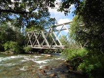 Puente del paso de Hatcher fotos de archivo