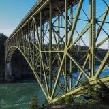 Puente del paso del engaño Imagenes de archivo