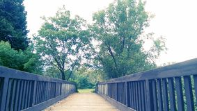 Puente del pie Fotografía de archivo