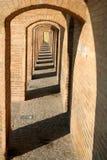 Puente del político del SE Si-o, en Esfahan Foto de archivo libre de regalías