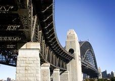 Puente del puerto Fotografía de archivo libre de regalías