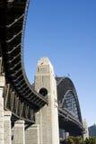 Puente del puerto Fotos de archivo libres de regalías
