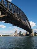Puente del puerto Imagen de archivo libre de regalías