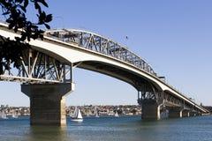 Puente del puerto de Auckland Foto de archivo libre de regalías