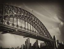 Puente del puerto de Sydney, Australia Foto de archivo