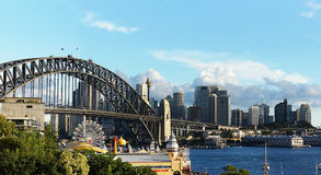 Puente del puerto, Sydney Imagen de archivo libre de regalías