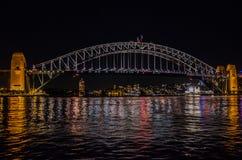 Puente del puerto, Sydney Foto de archivo