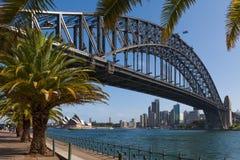 Puente del puerto, Sydney, Australia Imágenes de archivo libres de regalías
