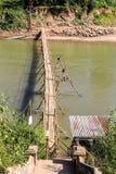 Puente del río Fotografía de archivo libre de regalías