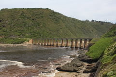 Puente del río de Boesmans Fotos de archivo
