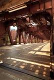 Puente del río de Chicago foto de archivo libre de regalías