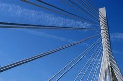 Puente del río de Yangtze foto de archivo