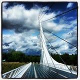 Puente del reloj de sol Imagen de archivo