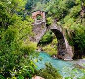 Puente del rocho Fotos de archivo libres de regalías