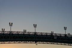 Puente del ` s del patriarca en la puesta del sol Imágenes de archivo libres de regalías