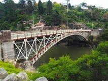 Puente del ` s del rey, garganta de la catarata, Launceston, Tasmania fotografía de archivo libre de regalías