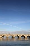 Puente del St. Servaas en Maastricht, Holanda Imagen de archivo