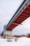 Puente del subterráneo Imagen de archivo libre de regalías