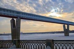 Puente del subterráneo Foto de archivo libre de regalías