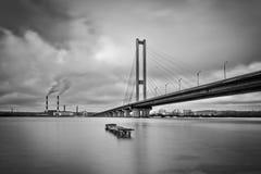 Puente del sur en Kiev Imagen de archivo libre de regalías