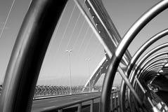 Puente del tercer milenio,萨瓦格萨 免版税库存照片