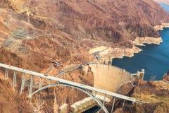 Puente del tillman de la callaghan-palmadita de Mike, Gran Cañón fotos de archivo