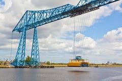 Puente del transportador de Middlesbrough Imagen de archivo libre de regalías
