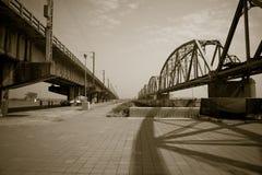 Puente del tren Imágenes de archivo libres de regalías