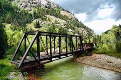 Puente del tren Imagen de archivo libre de regalías