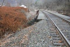 Puente del tren Imagenes de archivo