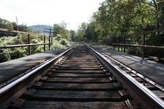 Puente del tren Fotos de archivo