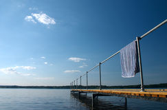 Puente del verano Foto de archivo