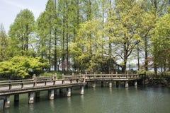 Puente del zigzag Foto de archivo libre de regalías
