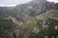 Puente distante del ferrocarril de la garganta de Taieri Imagen de archivo