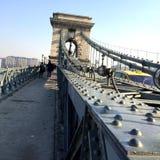Puente en Budapest Fotos de archivo libres de regalías