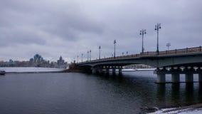 Puente en campo foto de archivo libre de regalías