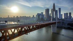 Puente en Chongqin imágenes de archivo libres de regalías