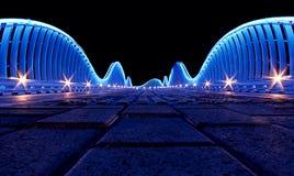 Puente en Dubai Imagen de archivo libre de regalías