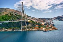 Puente en Dubrovnik Foto de archivo libre de regalías