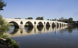 Puente en Edirne Fotos de archivo libres de regalías