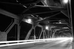 Puente en Edmonton, Canadá Imagenes de archivo