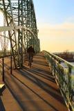 Conexión por un puente Imagen de archivo libre de regalías