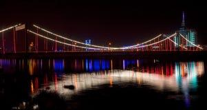 Puente en el Hun él fotos de archivo