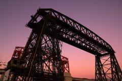 Puente, en el La Boca, Buenos Aires Imagen de archivo