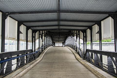 Puente en el muelle Fotografía de archivo