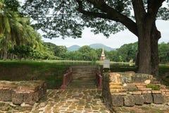 Puente en el parque histórico en sukhothai Imagenes de archivo